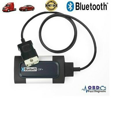Bluetooth TCS CDP Pro Plus for Car and Truck Auto OBD2 Diagnostic Tool