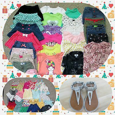 Baby Girls Toddler Clothes 3T Huge Lot Excellent Used Condition