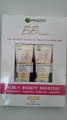 GENUINE Garnier BB Cream 50ml x2 With SPF15 Free Superfast Shipping!!