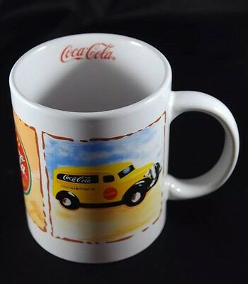 Coca Cola Advertising Mug Marked By Gibson in 2003