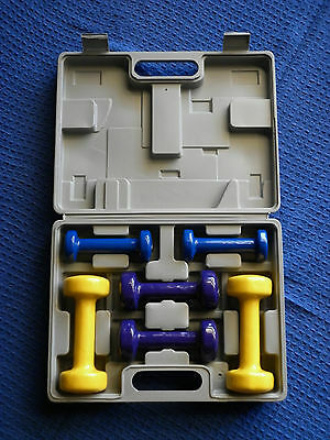 6KG Dumbbell Weight Set & Carry Case BRAND NEW