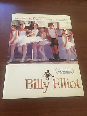 Billy Elliot press kit photos slides Jamie Bell Julie Walters Stephen Daldry