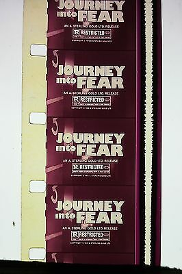 Vintage 16Mm Movie Trailer,tv Spot,ad,...'' Journey Into Fear ! ''..