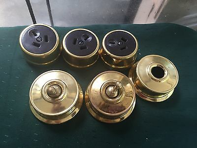 Antique Brass Light Switches