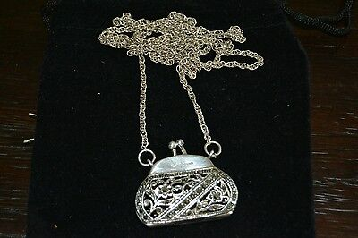 Beautiful Miniature Sterling Silver Coin Purse By Ari D Norman