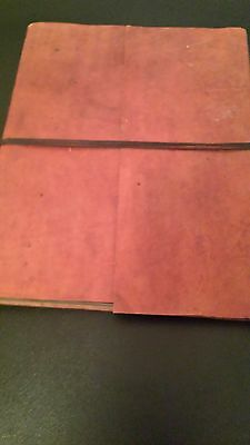 Fairtrade - Handmade Brown Leather Photo Or Scrapbook Album