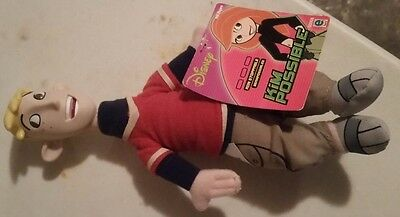 Disney Channel 9 inch Kim Possible Ron Stoppable doll figure