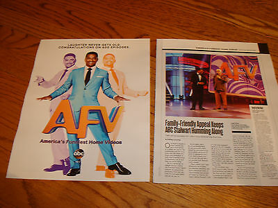 AMERICA'S FUNNIEST HOME VIDEOS 2017 ads article 600th episodes, Alfonso Ribeiro