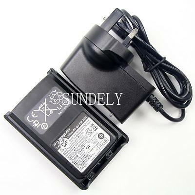 FNB-V104LI Li-ion Battery Pack + Charger Yaesu Vertex Radio VX-231L VX-234 New