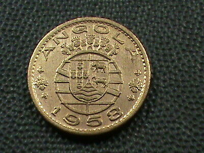 ANGOLA    50  Centavos    1958    UNCIRCULATED