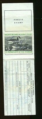FLORIDA 1976 Resident State Hunting/ Fishing License RW43 Duck Stamp - 325