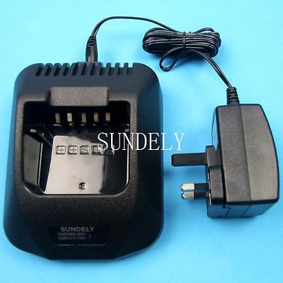 KSC-25 Rapid Charger for Kenwood Radio Walkie Talkie Battery KNB-26N KNB-35L New