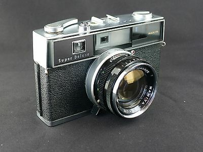Mamiya Super Deluxe Camera with 48mm f/1.7 Lens, Nice