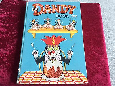 The  Dandy Book  1969 Very Rare. Very Good Condition
