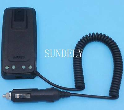 Car Charger Battery Eliminator Motorola Radio DP3400 DP3401 DP3600 DP3601 New