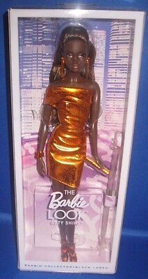 Barbie Collector City Shopper Aa Barbie Look  Doll City Shine Fashion, New