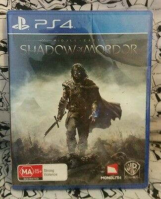 Middle Earth Shadow of Mordor PS4 Brand New
