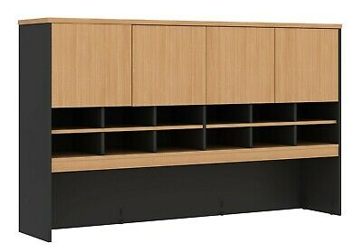 Hutch for Desk or Credenza 1800wx 1080h x 370d  Student Office Furniture