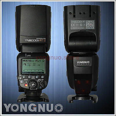 Yongnuo YN600EX-RT II Wireless Flash Speedlite Optical Master HSS TTL for Canon