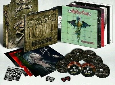 Motley Crüe, The End exclusive boxset