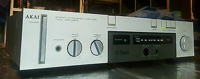 Vintage Akai Stereo Integrated  Amplifier/made In Japan