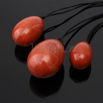 3PCS Natural Red Agate Yoni Egg Pelvic Muscle Exercise Vaginal Tightening Ball