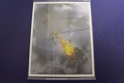 """Loot Crate DX """"Even Dragons Have Their Endings"""" Exclusive Print (Sealed)"""