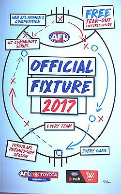 2017 Official Afl Fixture Guide - New