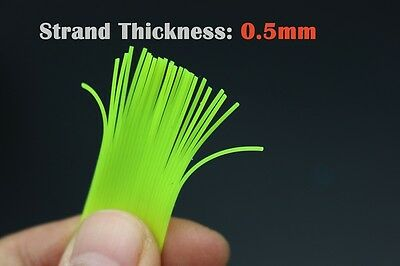 150cm 3 Assorted Colours 0.5MM Round Cylinder Silicone Skirt Squid Rubber Thread