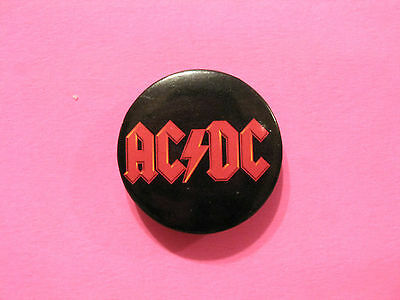"Ac/dc New Official 2006 Button Badge Pin Uk Import ""logo"""