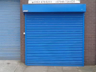 Electric Operation Commercial Roller Shutter Doors 3800 x 2500mm