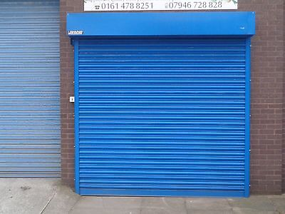 Electric Operation Industrial Roller Shutter Doors 4100 x 4100mm