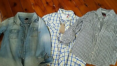 New Boys Branded Shirts Size 6/7   Shirts  Espirit & Cotton on
