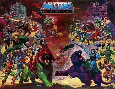 Masters Of The Universe | Motu | He-Man | Battle | Banner | Plane | Xxl