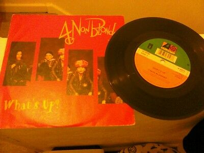 "4 non Blondes - what's up ?  Rare 7"" vinyl record rock grunge 90's"