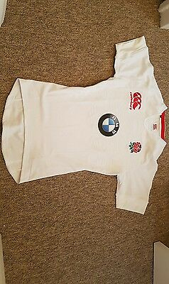 England Rugby  Bmw Sponsor By Canterbury Size  Large