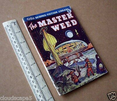 """1954 """"The Master Weed"""" by John Rackham. Tit-Bits/Pearson. Ron Turner Cover"""