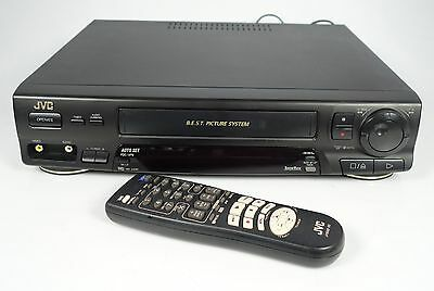 Jvc Hr-J438 Vhs Recorder Video-Recorder Mit Fernbedienung
