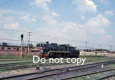 Original 35mm Colour Slide of Class SY Locomotive in China - Ref.362