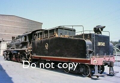 Original 35mm Colour Slide of Class SY Locomotive in China - Ref.338