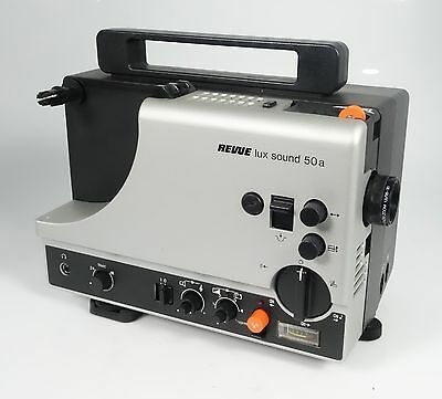 REVUE LUX SOUND 50a SUPER 8 TONFILMPROJEKTOR TOPZUSTAND EUMIG