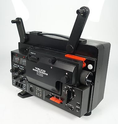 Yelco Ds-630 Ms Stereo Tonfilmprojektor Super 8  16-25 Fps !!!