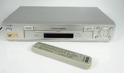 Sony Slv-Se730 Hifi Stereo Vhs Video-Recorder + Fernbedienung + Manual