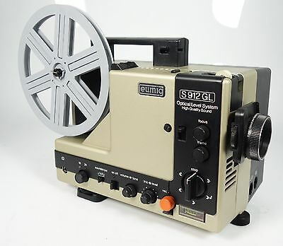 EUMIG S 912 GL HIGH QUALITIY SOUND DUOPLAY Super 8 TONFILMPROJEKTOR TOPZUSTAND