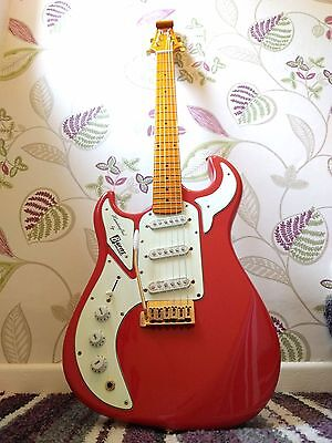 Burns Marquee Club Series Left handed electric guitar