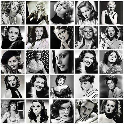 classic vintage films star Actresses movie star Retro posters prints wall deco