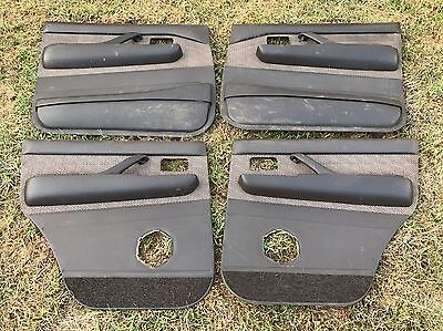4 X Toyota Landcruiser 80 Series Door Trim Panel Card Brown Fd40