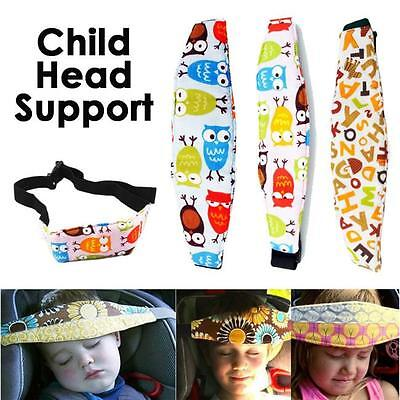 Child Safety Car Seat Sleep Aid Head Support Belt For Travel Elastic Protector