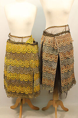 2 x Medieval Jewelled Skirts