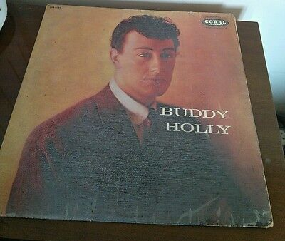 Buddy Holly - First LP - Coral Records - Very Good Condition -Clasic Rock N Roll